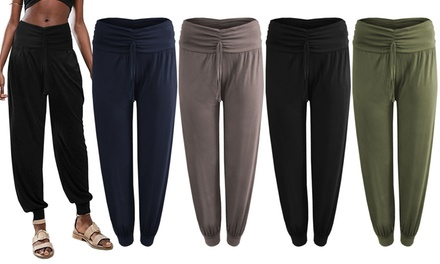 Womens Jersey Harem Trousers