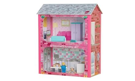 Plum Camden Court Dolls House
