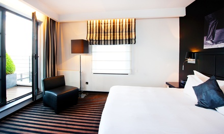 Brussels: Deluxe Room for Two with Breakfast, Wellness Access, Welcome Drink and Late CheckOut at 4* Hotel Be Manos