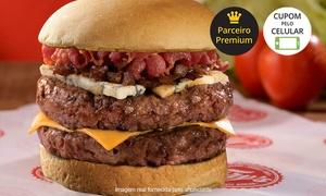 Fry's Burgers - Leblon: Fry's Burgers - Leblon: combo com sanduíche + batata + bebida
