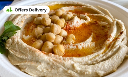 Food and Drink at Pita Pride (Up to 55% Off). Two Options. Available.