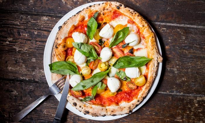 Pizzeria Masaniello - Bordeaux: 2 pizzas dans la pure tradition Napolitaine et 2 desserts au choix sur la carte dès 22,90 € au restaurant Masaniello