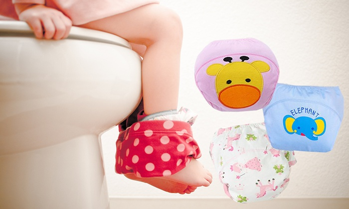 Sensual Sale: Toddlers Potty Training Pants: 7-Pack ($25) or 14-Pack ($39)