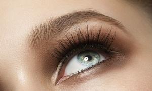 Estheticenter: Estheticenter – Aldeota: 1 ou 2 visitas com design de sobrancelhas, henna e coloração de cílios
