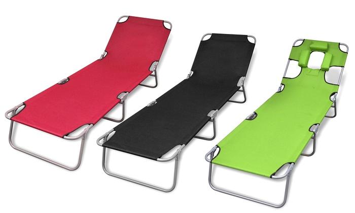 Vaak Opvouwbare ligstoel | Groupon UY91