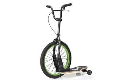 Trottinette   Skateboard Sbyke P20 avec roue BMX à 89,90 €