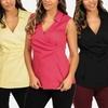 NYDJ Women's Sleeveless Shirt
