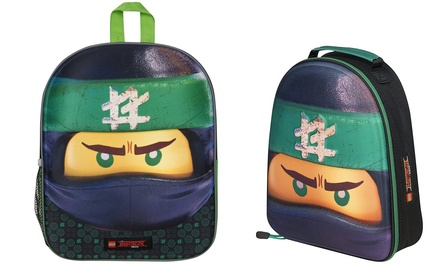 Sambro LEGO Ninjago Movie Backpack or Lunch Bag