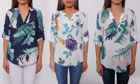 Camisas de diseño tropical