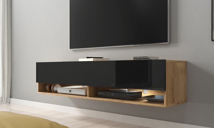 TV Cabinet Wander with Optional LED Light