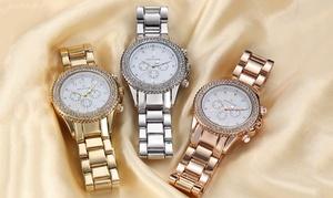 oferta: Reloj Timothy Stone cronógrafo de acero con cristales Swarovski® por 29,90 € (70% de descuento) con envío gratuito