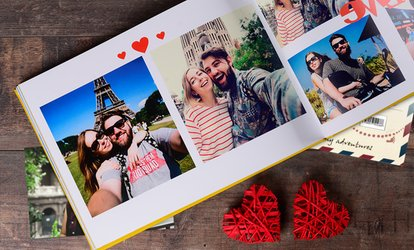 image for One or Two 100- or 140-Page Personalised A4 Hardcover Photobooks from Colorland (Up to 85% Off)