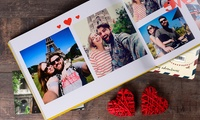 One or Two 100- or 140-Page Personalised A4 Hardcover Photobooks from Colorland (Up to 85% Off)