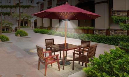 Luce per ombrellone da giardino groupon goods for Groupon giardino