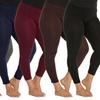 Women's Plus Size Fleece Leggings (6-Pack) (Size 2X/3X)