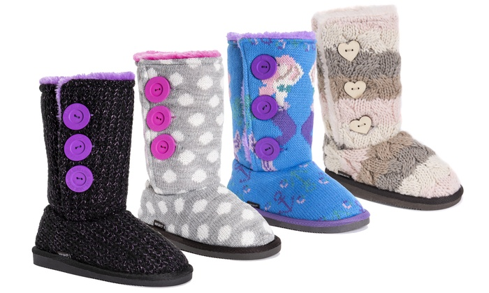4b23e462032f Up To 44% Off on Muk Luks Girls  Malena Boots