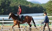【最大64%OFF】可愛い馬とふれあう時間を、全身で楽しもう≪手ぶらでOK・はじめての乗馬体験(レンタル・保険費用込)/ 午前 or 午...