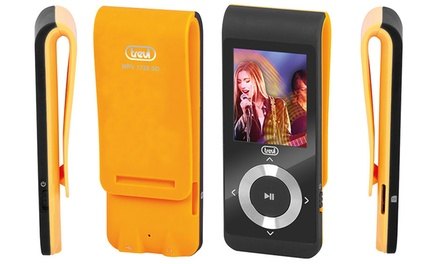 Lettore Mp3-Mp4 con Micro SD da 4 GB Trevi