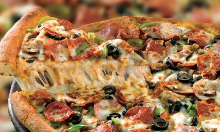 Papa John's Pizza - Covina & Pomona, CA - Multiple Locations: One or Two Large Pizzas with Side and Soda or Five Large Pizzas from Papa John's Pizza (Up to 60% Off)