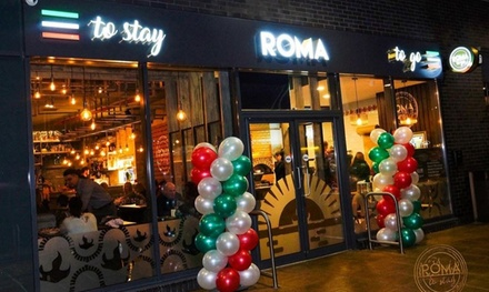 Choice of Pizza or Pasta for Two or Four with Optional Drinks at Roma To Go
