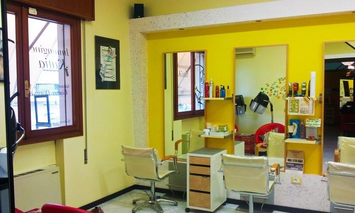 Immagine Katia - Maserà Di Padova: Taglio, shampoo, condizionatore, piega, colore e maschera da Immagine Katia (sconto fino a 60%), a 15 minuti da Padova