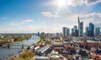 """Hop-on-Hop-off-Stadtrundfahrt """"Express Tour"""" in Frankfurt für 2 oder 4 Pers. bei Sightseeing Frankfurt (bis 56% sparen*)"""