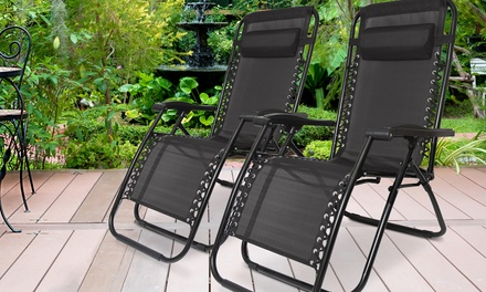 One or Two Dickens Zero Gravity Chairs