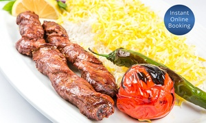 Farsi: Three-Course Persian Dinner with Drinks for Two ($49), Four ($95) or Six ($139) at Farsi (Up to $343.5 Value)