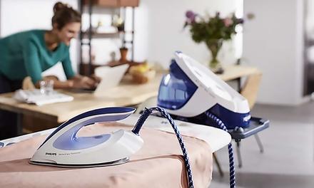 Centrales vapeur Philips Perfect Care Viva, Perfect Care Pure, Fast Care et Perfect Care Aqua, modèles au choix