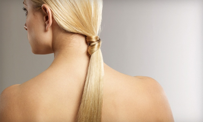 Shear Madness - DePaul: $99 for a Japanese Straightening Treatment or a Keratin Treatment at Shear Madness ($250 Value)