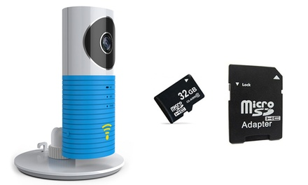 CCTV Wi Fi Camera with Optional 32GB SD Card