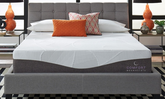 Up To 82 Off On 12 Gel Memory Foam Mattress Groupon Goods