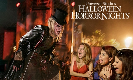 Tickets to Universal Studios Halloween Horror Nights (Up to 56% Off Gate Price).