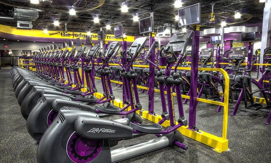 1 Month Gym Membership Planet Fitness Groupon