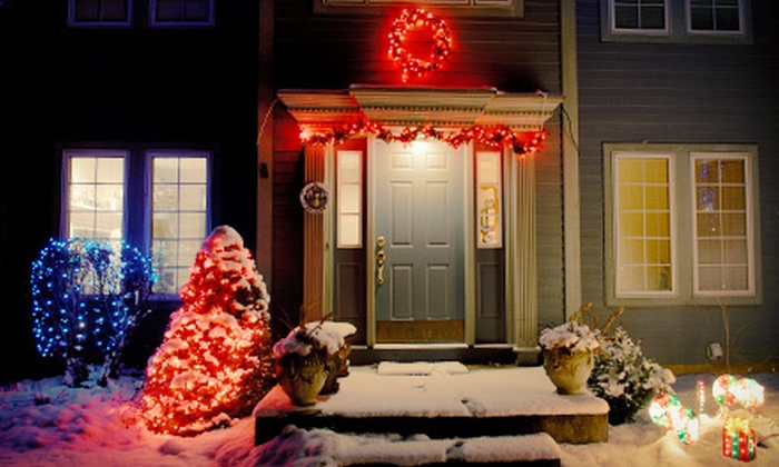 Perfect Touch Window Cleaning - Dallas: $175 for Holiday-Lights Installation for a One- or Two-Story House from Perfect Touch Window Cleaning ($500 Value)