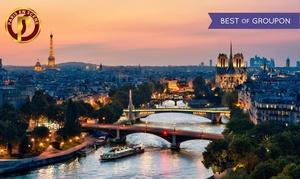 Bateau Paris en Scène: Dîner-croisière d'1h15 sur le Bateau Paris en Scène, avec menu en 3 services et champagne pour 2 personnes dès 69 €