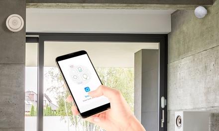 Pack de seguridad del hogar para controlar con el móvil o tablet