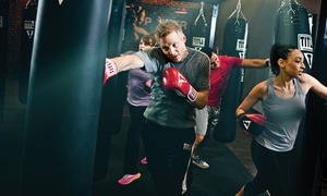 TITLE Boxing Club- Hunters Creek: $16 for Two Weeks of Unlimited Boxing and Kickboxing Classes at TITLE Boxing Club ($75 Value)