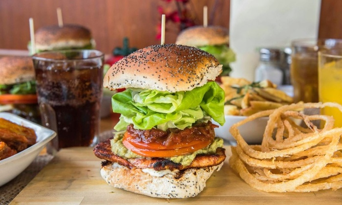 Real Gourmet Burger - Dublin: Gourmet Burger, Fries and Wine or Craft Beer for Two at Real Gourmet Burger (41% Off)