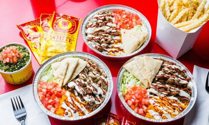 Gyro And Chicken The Halal Guys Groupon