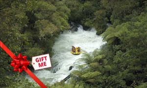 Kaitiaki Adventures: Whitewater Rafting for One ($72), Two ($144) or Six People ($425) with Kaitiaki Adventures, Rotorua (Up to $804 Value)