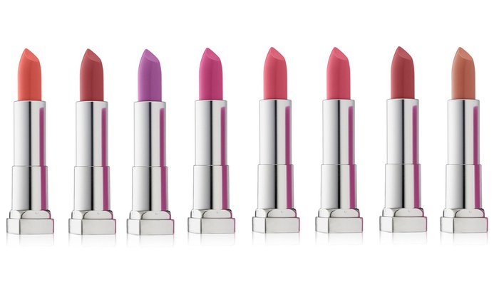 Groupon Goods: $19.95 for an Eight-Pack Maybelline Colour Sensational Lipsticks (Don't Pay $127.28)