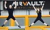 Air Vault - Bolton: One, Three or Six Trampoline Fitness Sessions at Air Vault (Up to 31% Off)
