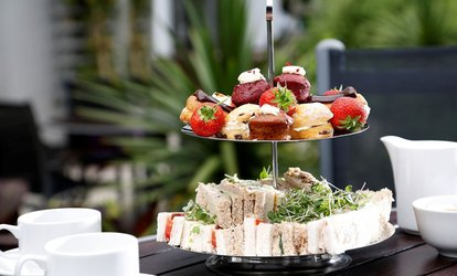 image for Traditional Afternoon Tea with Optional Glass of Prosecco for Two or Four at 4* Pinewood On Wilmslow (Up to 30% Off)