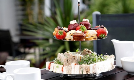 Traditional Afternoon Tea with Optional Glass of Prosecco for Two or Four at 4* Pinewood On Wilmslow (Up to 30% Off)