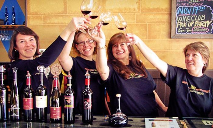 Scott Harvey Wines Tasting Room - Sutter Creek: $35 Wine-Tasting Package for Two at Scott Harvey Wines Tasting Room ($70 Value)