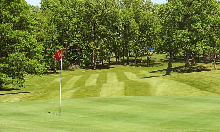 Country Meadows Golf Resort - Jamestown: 18 Holes of Golf for Two or Four Including Cart Rental and Lunch at Country Meadows Golf Resort (Up to 54% Off)