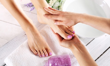 Foot Spa Package: 50-Min ($39) or 70-Min + Neck & Shoulder Massage ($49) or 90-Min Deluxe massage ($69), Footcare Haven