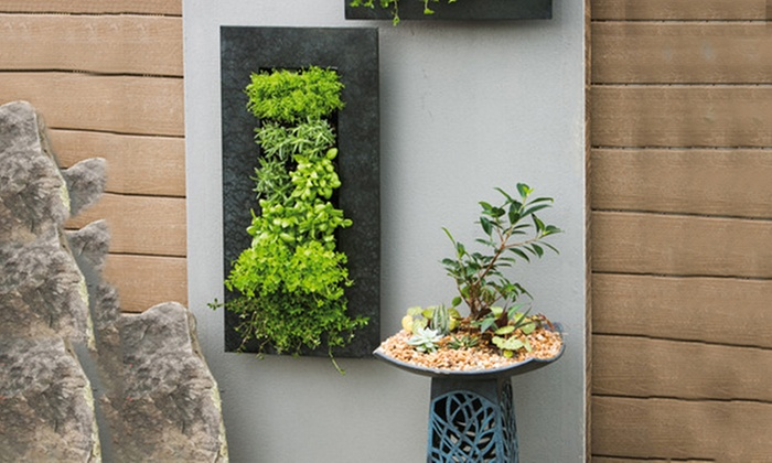 Up To 69 Off On 12 Pocket Metal Wall Planter Groupon Goods