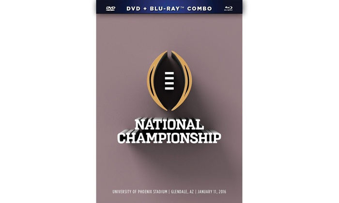 College Football Bowl Games on DVD and Blu-ray